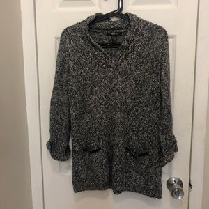 Grey Style & Co. sweater
